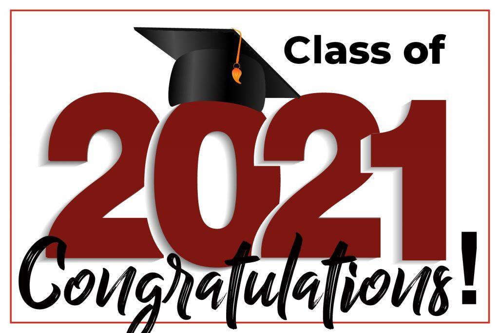 Congrats 2021 Grad