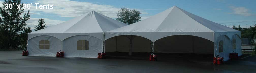 30 x 30 Tent Rentals and Sales
