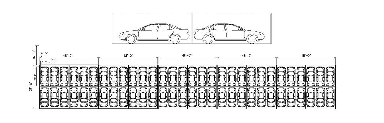 Hail Shelters for Car Dealerships