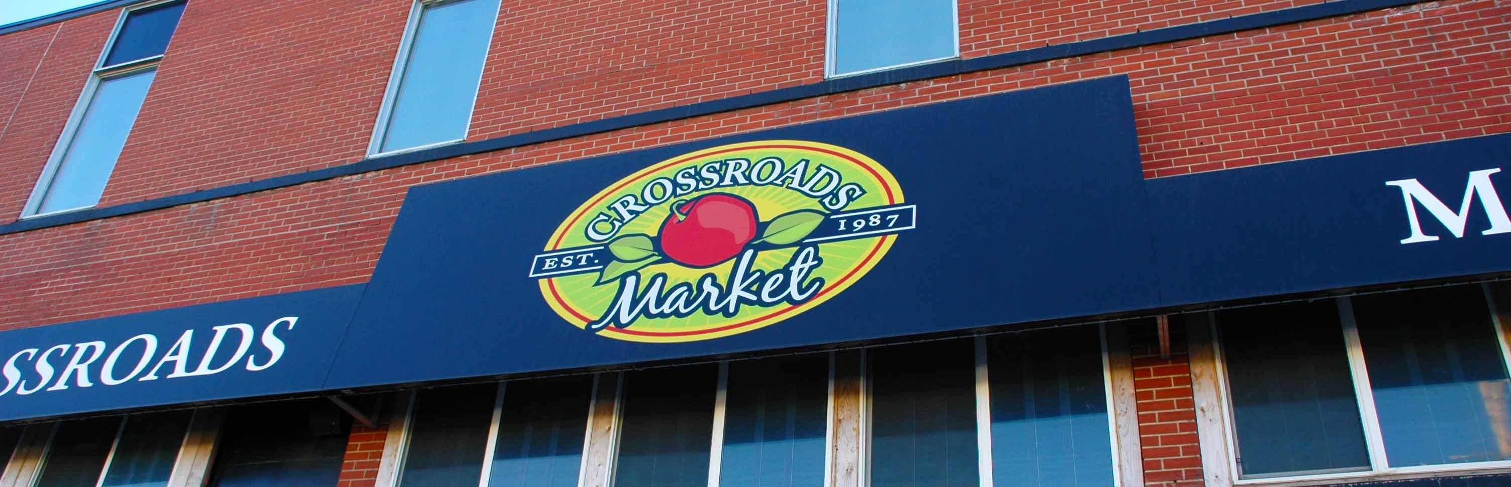 CrossRoads Market Custom Banner